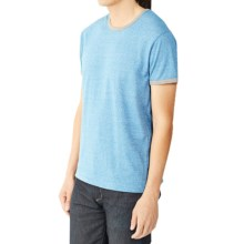 Alternative Apparel Eco-Mock Twist Ringer Jersey - Short Sleeve (For Men) in Eco Mock Storm - Closeouts