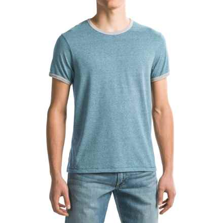 Alternative Apparel Eco-Mock Twist Ringer T-Shirt - Short Sleeve (For Men) in Eco Mock Storm - Closeouts
