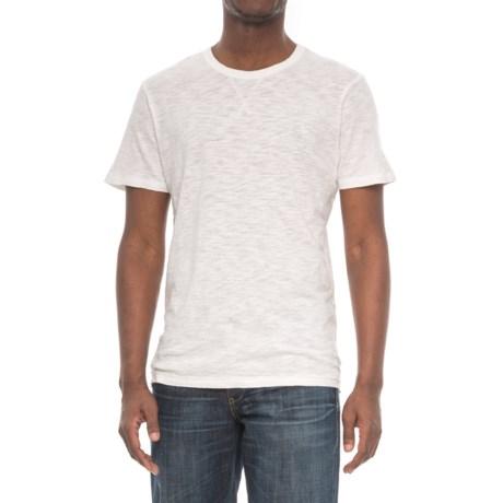 Alternative Apparel Eurostar T-Shirt - Short Sleeve (For Men) in Vintage White Reactive