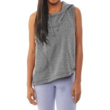 Alternative Apparel Exhale Hoodie - Sleeveless (For Women) in Eco Grey - Closeouts
