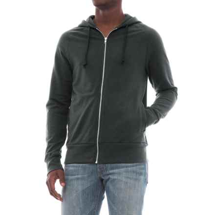 Alternative Apparel Franchise Vintage French Terry Hoodie (For Men) in Black - Closeouts
