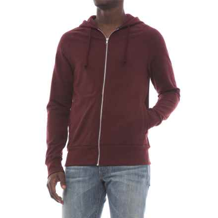 Alternative Apparel Franchise Vintage French Terry Hoodie (For Men) in Maroon - Closeouts