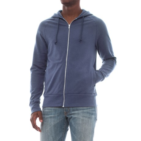 Alternative Apparel Franchise Vintage French Terry Hoodie (For Men) in Navy