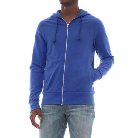 Alternative Apparel Franchise Vintage French Terry Hoodie (For Men) in Royal Blue - Closeouts