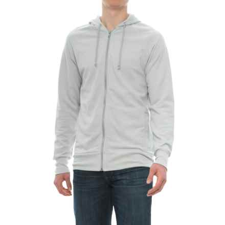 Alternative Apparel Franchise Vintage French Terry Hoodie (For Men) in Silver - Closeouts