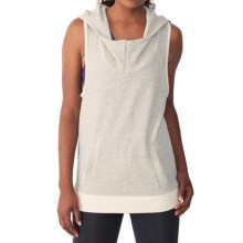 Alternative Apparel Game Changer Hoodie - Sleeveless (For Women) in Eco Grey - Closeouts