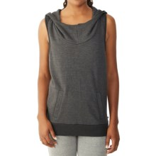 Alternative Apparel Game Changer Hoodie - Sleeveless (For Women) in Eco True Raven - Closeouts
