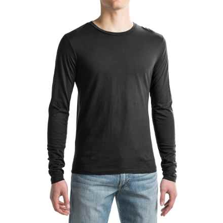Alternative Apparel Heritage Shirt - Long Sleeve (For Men) in Black - Closeouts