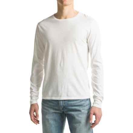 Alternative Apparel Heritage Shirt - Long Sleeve (For Men) in White - Closeouts