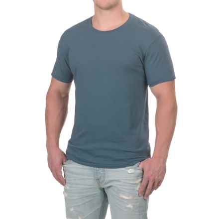 Alternative Apparel Heritage T-Shirt - Crew Neck, Short Sleeve (For Men) in Light Navy - Closeouts