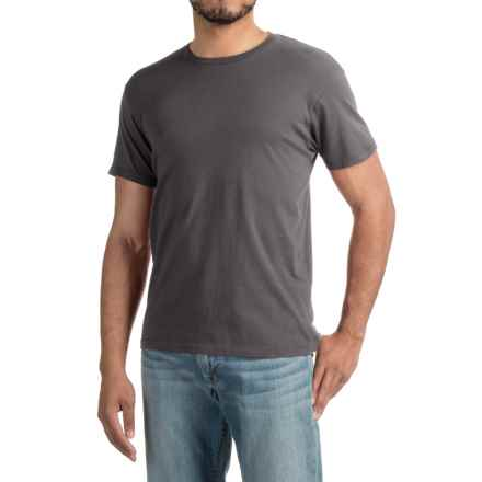 Alternative Apparel Heritage T-Shirt - Short Sleeve (For Men) in Asphalt - Closeouts