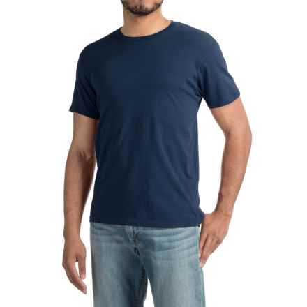 Alternative Apparel Heritage T-Shirt - Short Sleeve (For Men) in Midnight - Closeouts