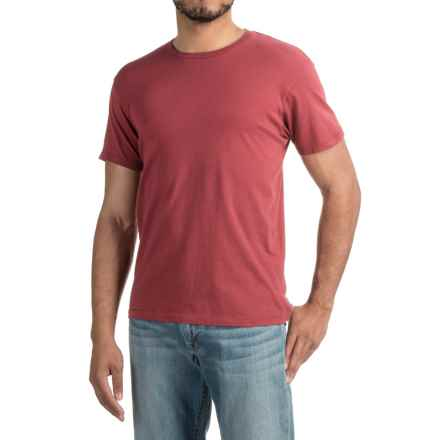 Alternative Apparel Heritage T-Shirt - Short Sleeve (For Men) in Redwood - Closeouts