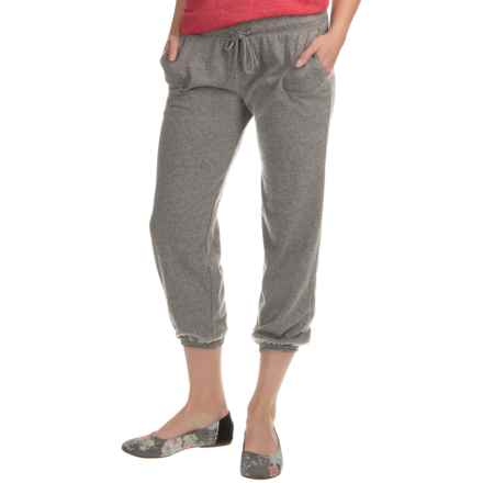 Alternative Apparel -Jersey Joggers (For Women) in Eco Grey - Closeouts