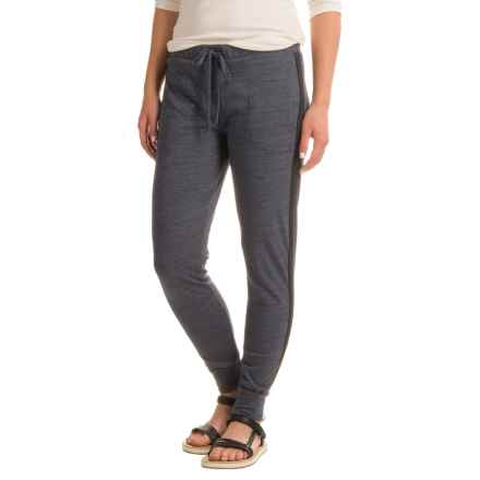 Alternative Apparel Jersey Joggers (For Women) in Eco True Navy - Closeouts