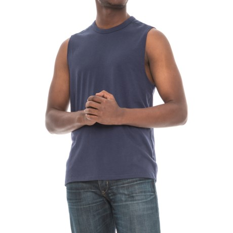 Alternative Apparel Keeper Muscle Tank Top (For Men) in Navy