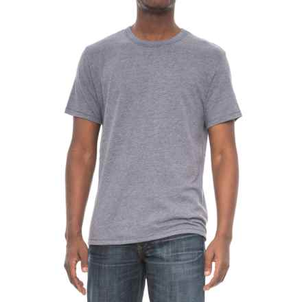 Alternative Apparel Keeper Vintage T-Shirt - Short Sleeve (For Men) in Vintage Navy - Overstock