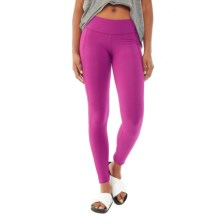 Alternative Apparel Lean Into It Leggings - Organic Cotton-Lycra® (For Women) in Magenta - Closeouts