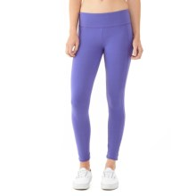 Alternative Apparel Lean Into It Leggings - Organic Cotton-Lycra® (For Women) in Purple Jewel - Closeouts