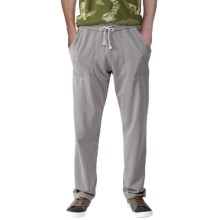 Alternative Apparel Lightweight French Terry Pants- Relaxed Fit (For Men) in Nickel - Closeouts