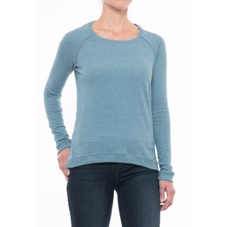 Alternative Apparel Locker Room Mock Twist Shirt - Long Sleeve (For Women) in Eco Mock Storm