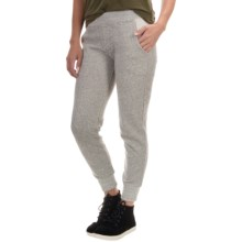 Alternative Apparel Organic Cotton Joggers (For Women) in Heather Grey - Closeouts