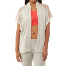 Alternative Apparel Organic Light French Terry Wrap - Organic Cotton, Sleeveless (For Women) in Heather Grey - Closeouts