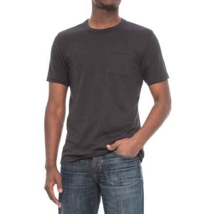 Alternative Apparel Pocket Keeper T-Shirt - Short Sleeve (For Men) in Black - Overstock