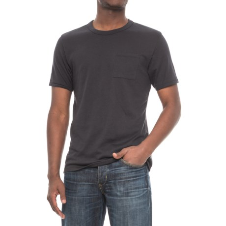 Alternative Apparel Pocket Keeper T-Shirt - Short Sleeve (For Men) in Black
