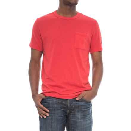 Alternative Apparel Pocket Keeper T-Shirt - Short Sleeve (For Men) in Red - Overstock