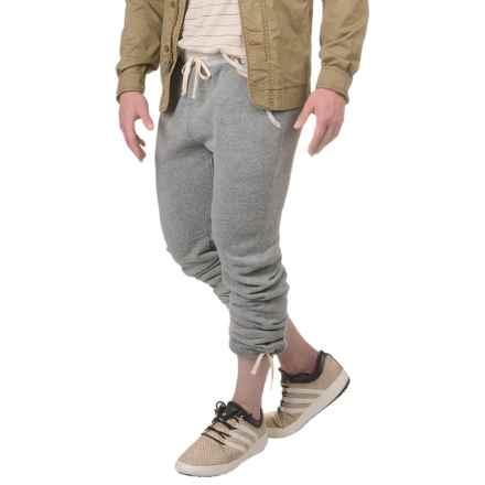 Alternative Apparel Puddle Jumper Fleece Sweatpants (For Men) in Eco Grey - Closeouts