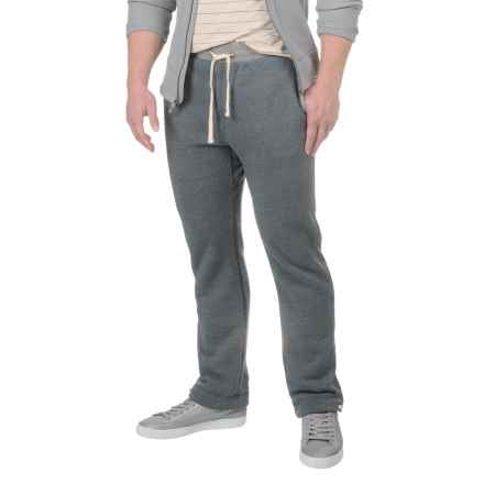 Alternative Apparel Puddle Jumper Fleece Sweatpants (For Men) in Eco True Navy - Closeouts