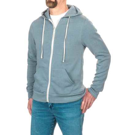 Alternative Apparel Rocky Eco-Fleece Hoodie (For Men) in Eco True Blue - Closeouts