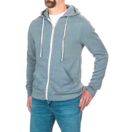 Alternative Apparel Rocky Eco-Fleece Hoodie (For Men) in Eco True Blue - Closeouts