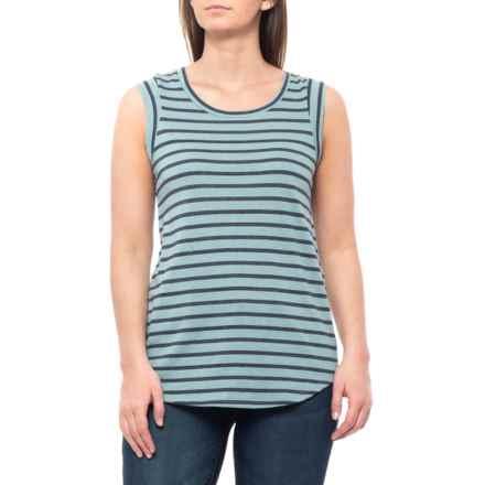 9d7fbc36 Alternative Apparel Sea Breeze Overdye Riviera Stripe Eco-Yarn T-Shirt -  Sleeveless (