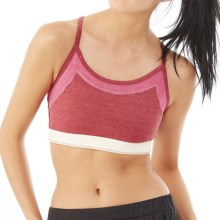 Alternative Apparel Stretch It Out Sports Bra - Low Impact (For Women) in Eco True Redwood Multi - Closeouts