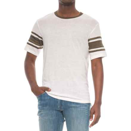 Alternative Apparel Touchdown T-Shirt - Short Sleeve (For Men) in Eco Ivory - Overstock