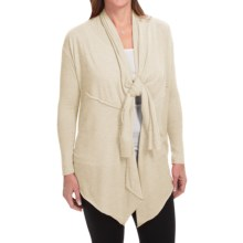 Alternative Apparel Wrap It Up! Wrap Sweater (For Women) in Eco Wheat - Closeouts