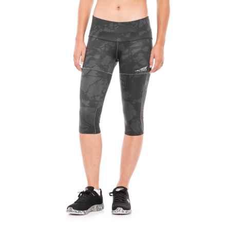 Altra Capri Tights (For Women) in Grey - Closeouts
