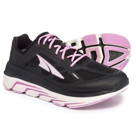 66889449cd9ad Altra Duo Running Shoes (For Women) in Black Pink - Closeouts