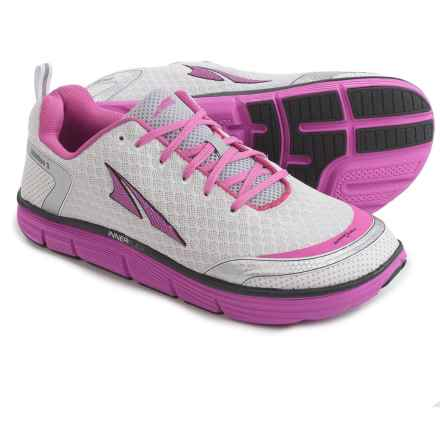 Altra Intuition 3.0 Running Shoes (For Women) in Silver/Pink - Closeouts