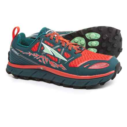 Altra Lone Peak 3 Trail Running Shoes (For Women) in Red/Deep Sea - Closeouts