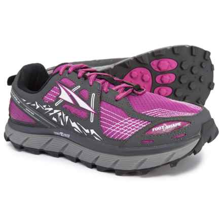 Altra Lone Peak 3.5 Trail Running Shoes (For Women) in Purple - Closeouts c4959c12039