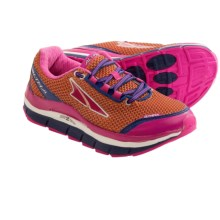 Altra Olympus Trail Running Shoes (For Women) in Orange Peel/Pink Glow - Closeouts