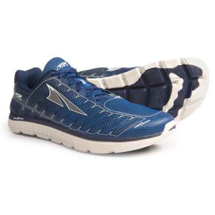 Altra One V3 Running Shoes (For Men) in Blue/Gray - Closeouts