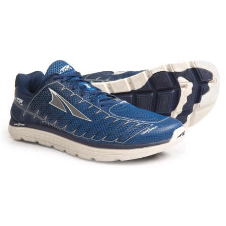 Altra One V3 Running Shoes (For Men) in Blue/Gray