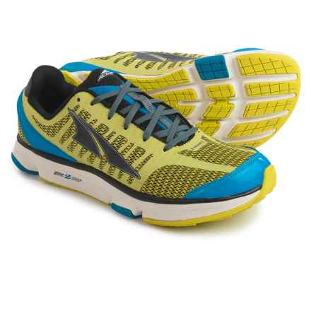 Altra Provision 2.0 Running Shoes (For Men) in Lime/Blue - Closeouts
