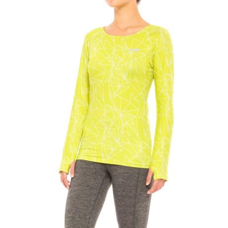 Altra Running Shirt - UPF 50, Long Sleeve (For Women) in Lime