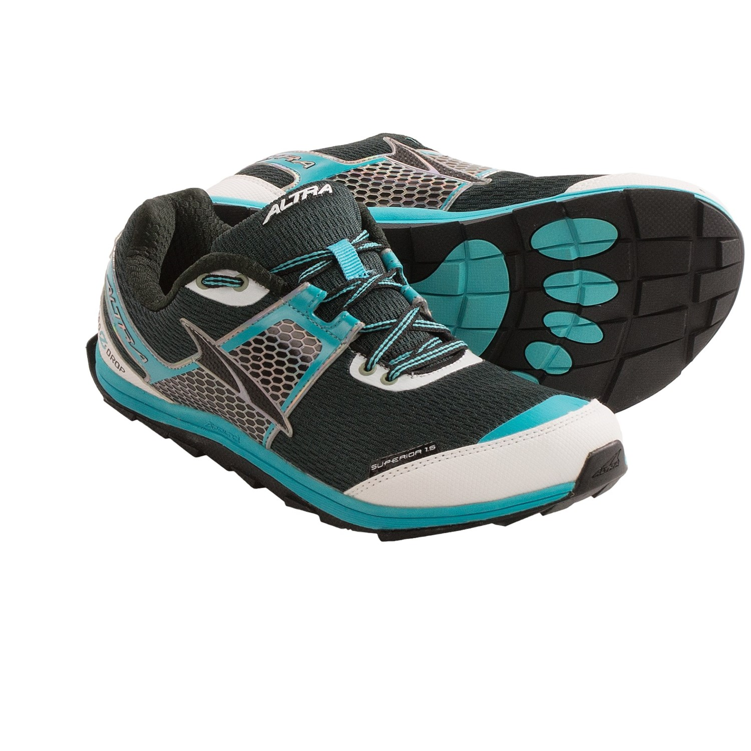 Altra Superior 1.5 Trail Running Shoes (For Women) in Dark Grey/Blue