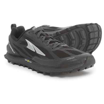 Altra Superior 3.0 Trail Running Shoes (For Men) in Black - Closeouts